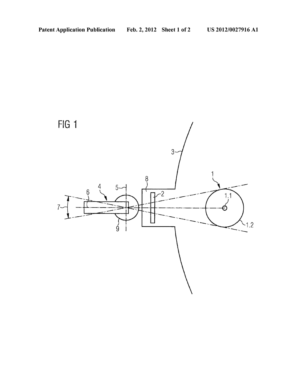 ARRANGEMENT AND METHOD FOR MEASUREMENT OF THE TEMPERATURE AND OF THE     THICKNESS GROWTH OF SILICON RODS IN A SILICON DEPOSITION REACTOR - diagram, schematic, and image 02