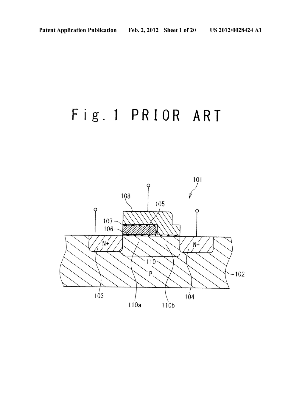 MANUFACTURE METHOD OF A SPLIT GATE NONVOLATILE MEMORY CELL - diagram, schematic, and image 02