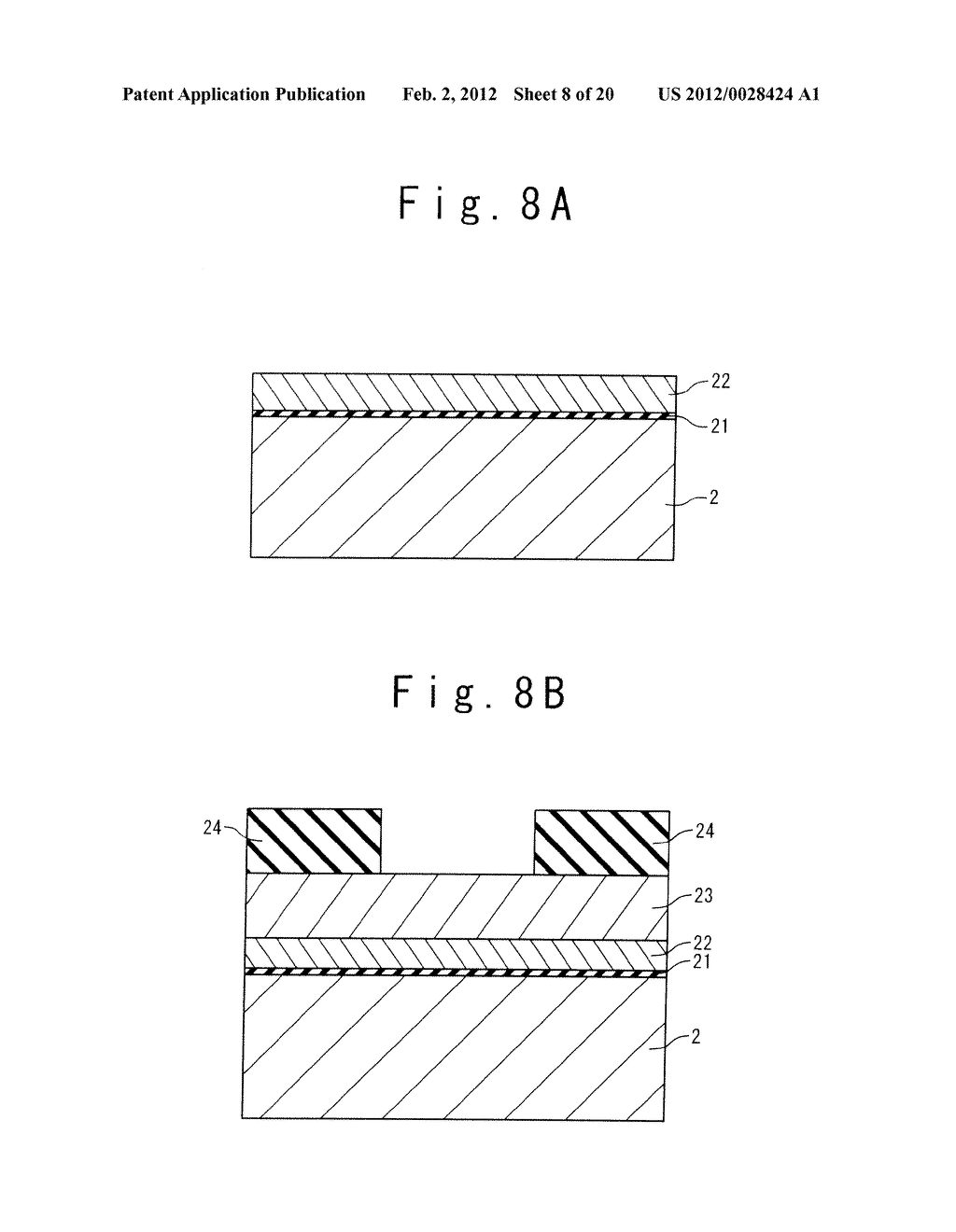 MANUFACTURE METHOD OF A SPLIT GATE NONVOLATILE MEMORY CELL - diagram, schematic, and image 09
