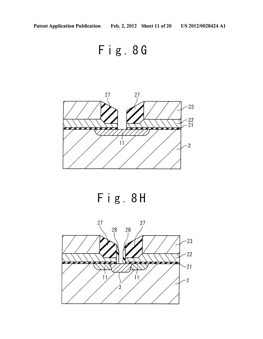 MANUFACTURE METHOD OF A SPLIT GATE NONVOLATILE MEMORY CELL - diagram, schematic, and image 12