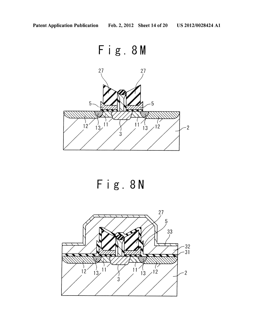 MANUFACTURE METHOD OF A SPLIT GATE NONVOLATILE MEMORY CELL - diagram, schematic, and image 15