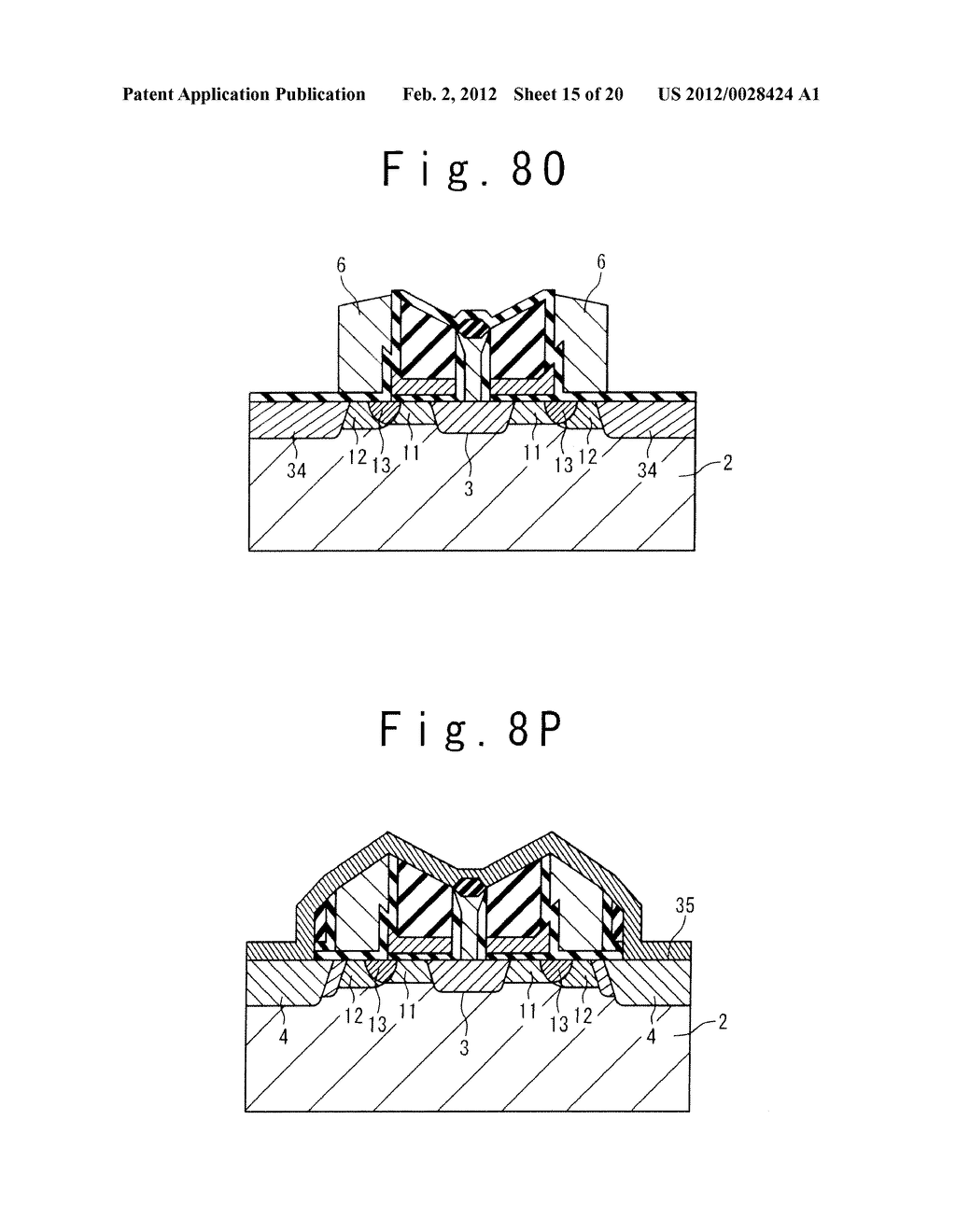 MANUFACTURE METHOD OF A SPLIT GATE NONVOLATILE MEMORY CELL - diagram, schematic, and image 16