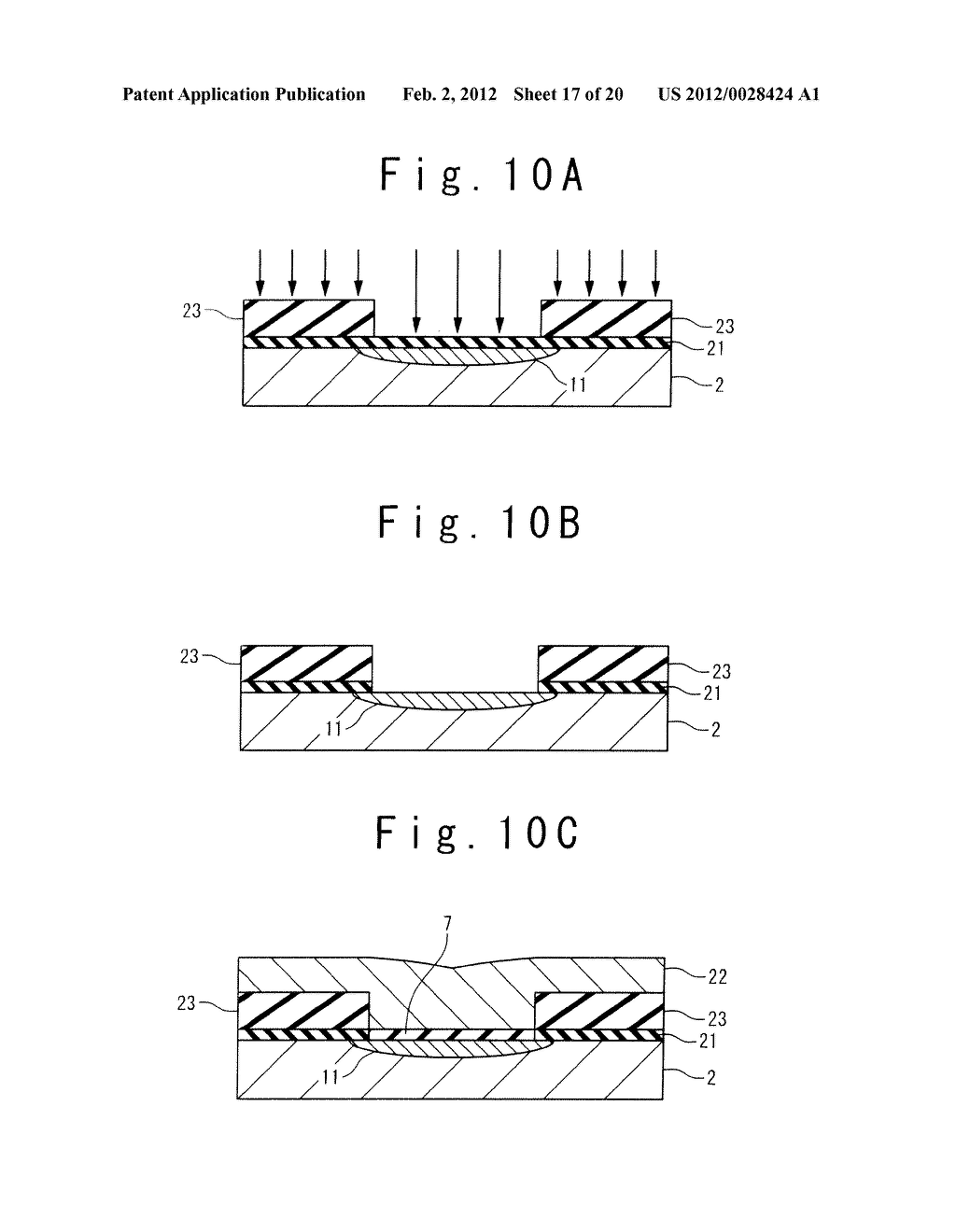 MANUFACTURE METHOD OF A SPLIT GATE NONVOLATILE MEMORY CELL - diagram, schematic, and image 18