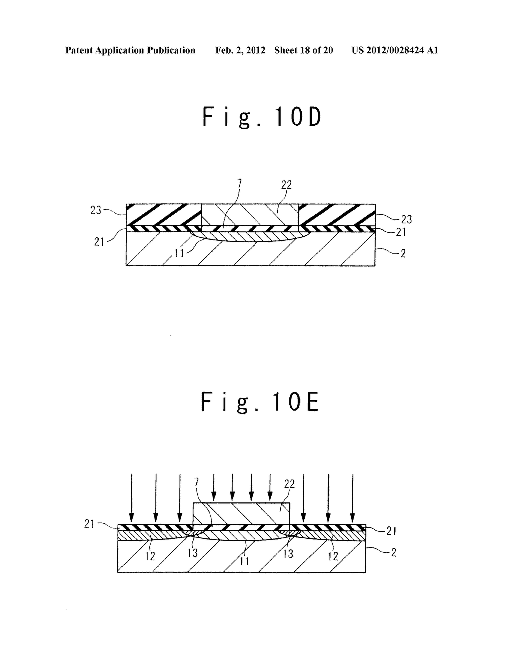 MANUFACTURE METHOD OF A SPLIT GATE NONVOLATILE MEMORY CELL - diagram, schematic, and image 19