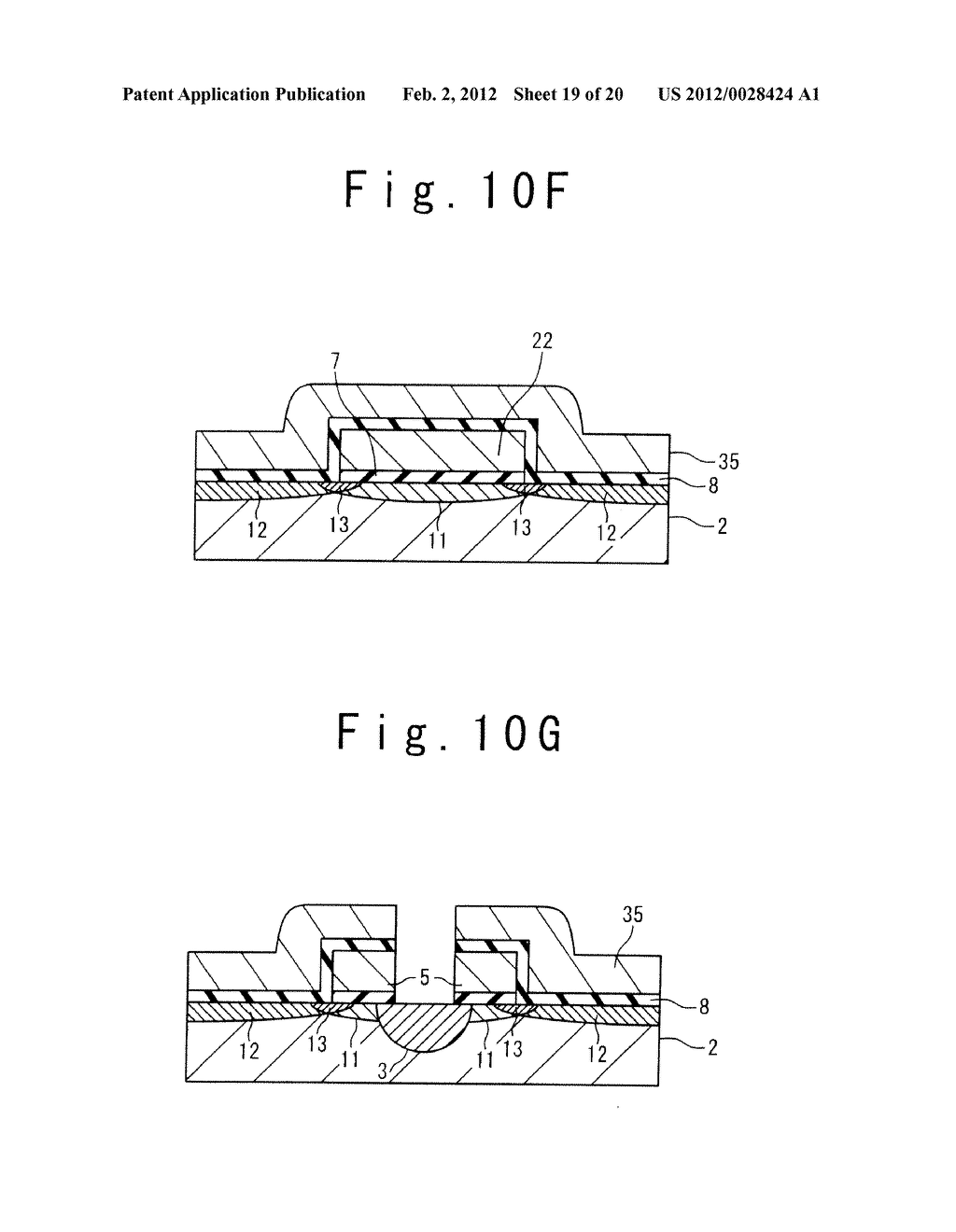 MANUFACTURE METHOD OF A SPLIT GATE NONVOLATILE MEMORY CELL - diagram, schematic, and image 20