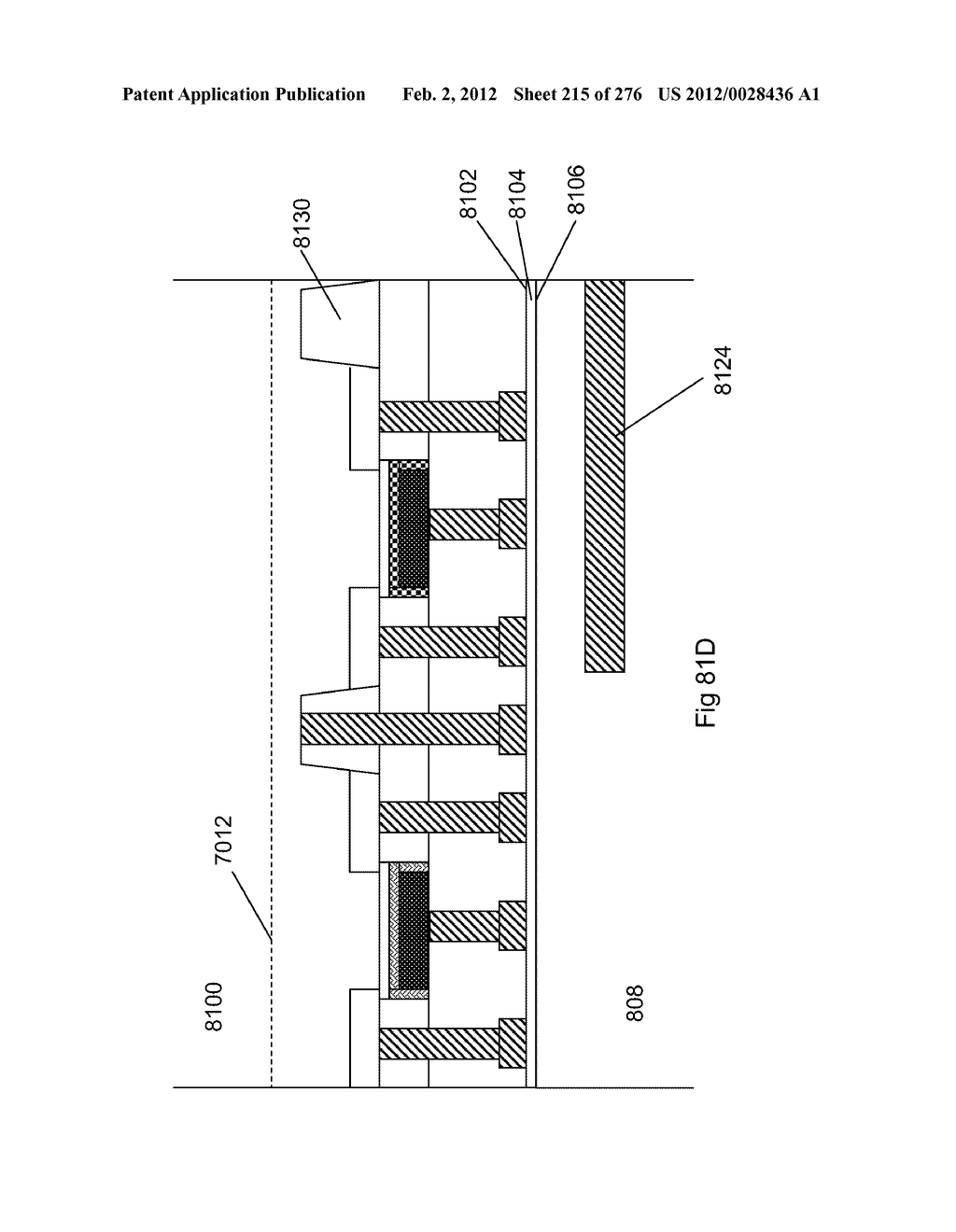 METHOD FOR FABRICATION OF A SEMICONDUCTOR DEVICE AND STRUCTURE - diagram, schematic, and image 216