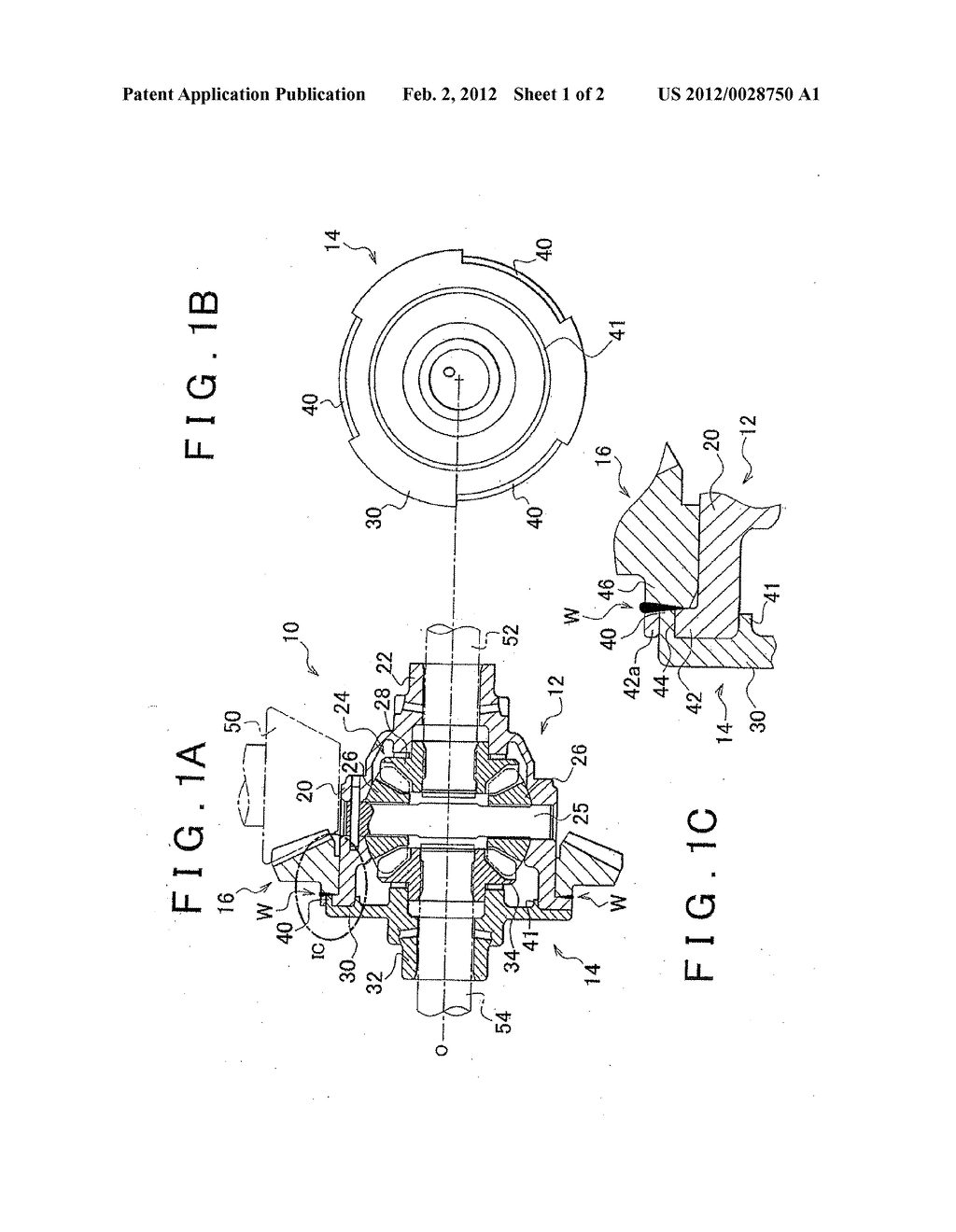 differential gear and vehicle provided with differential gear Ezgo Differential Schematic differential gear and vehicle provided with differential gear diagram, schematic, and image 02