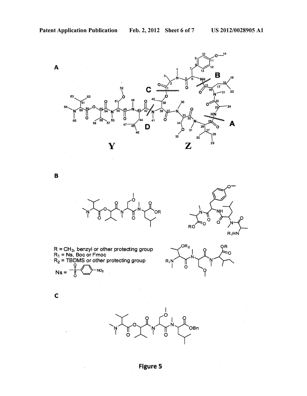 Isolation, Purification, and Structure Elucidation of the     Antiproliferative Compound Coibamide A - diagram, schematic, and image 07