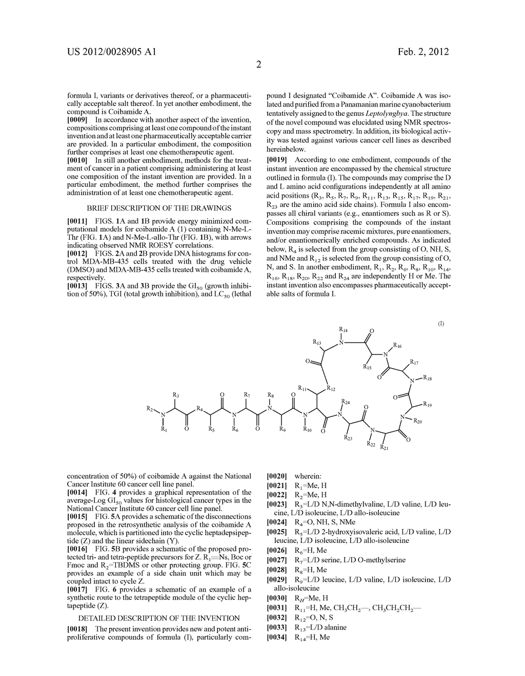 Isolation, Purification, and Structure Elucidation of the     Antiproliferative Compound Coibamide A - diagram, schematic, and image 10