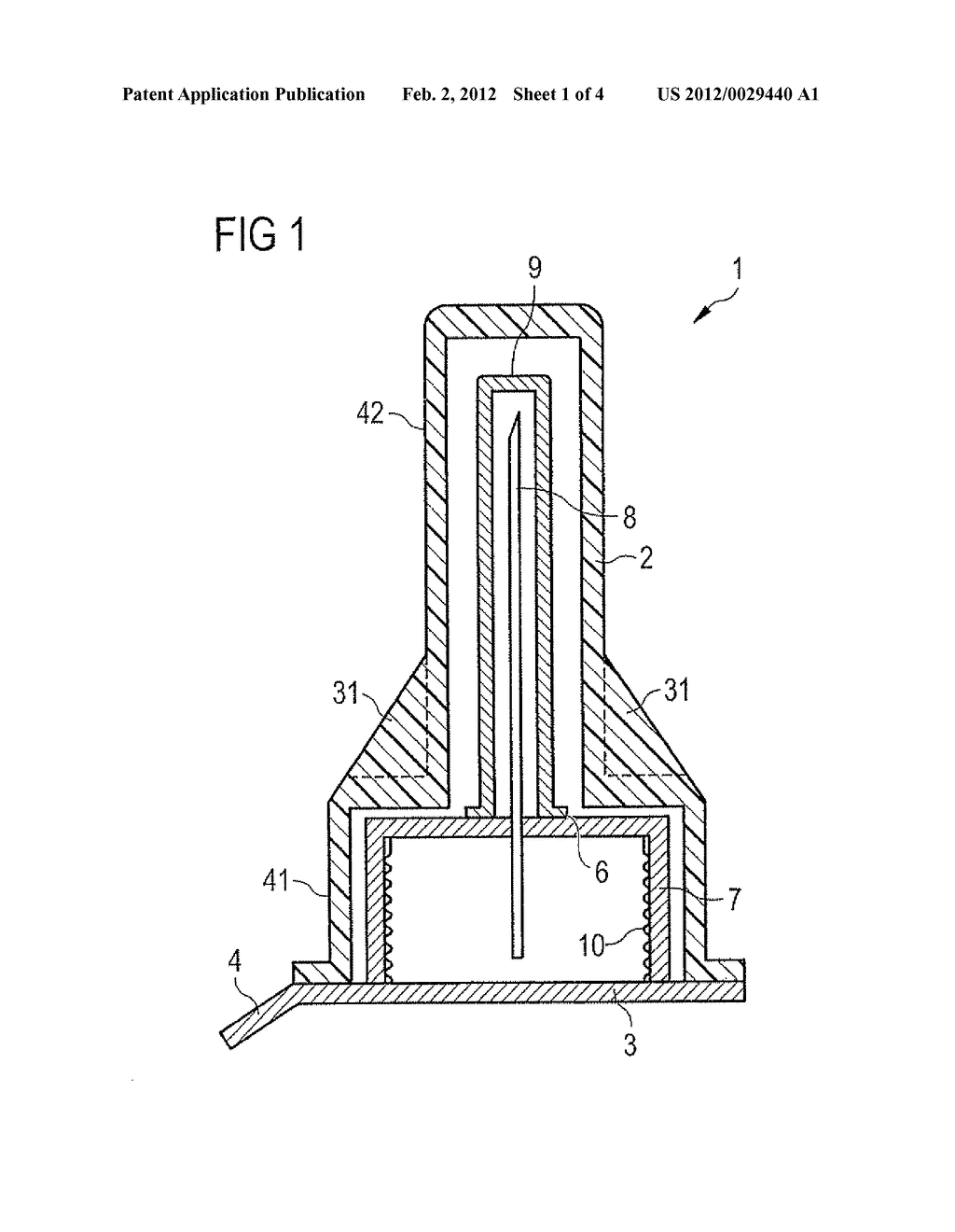 APPARATUS FOR HOLDING A COVER OF A NEEDLE UNIT AND METHOD - diagram, schematic, and image 02
