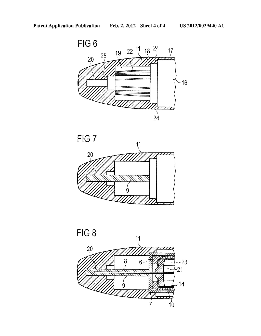 APPARATUS FOR HOLDING A COVER OF A NEEDLE UNIT AND METHOD - diagram, schematic, and image 05