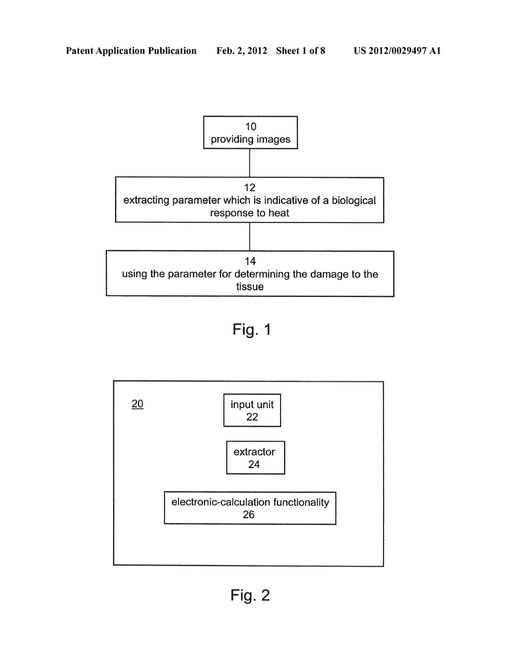 Method and System for Monitoring Ablation of Tissues - diagram, schematic, and image 02