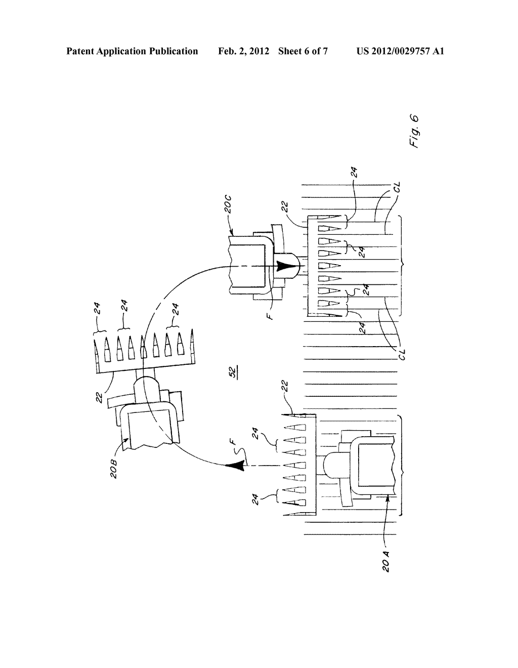 SYSTEM AND METHOD FOR AUTOMATICALLY CONTROLLING DECK PLATE POSITION ON A     CORN HEADER - diagram, schematic, and image 07