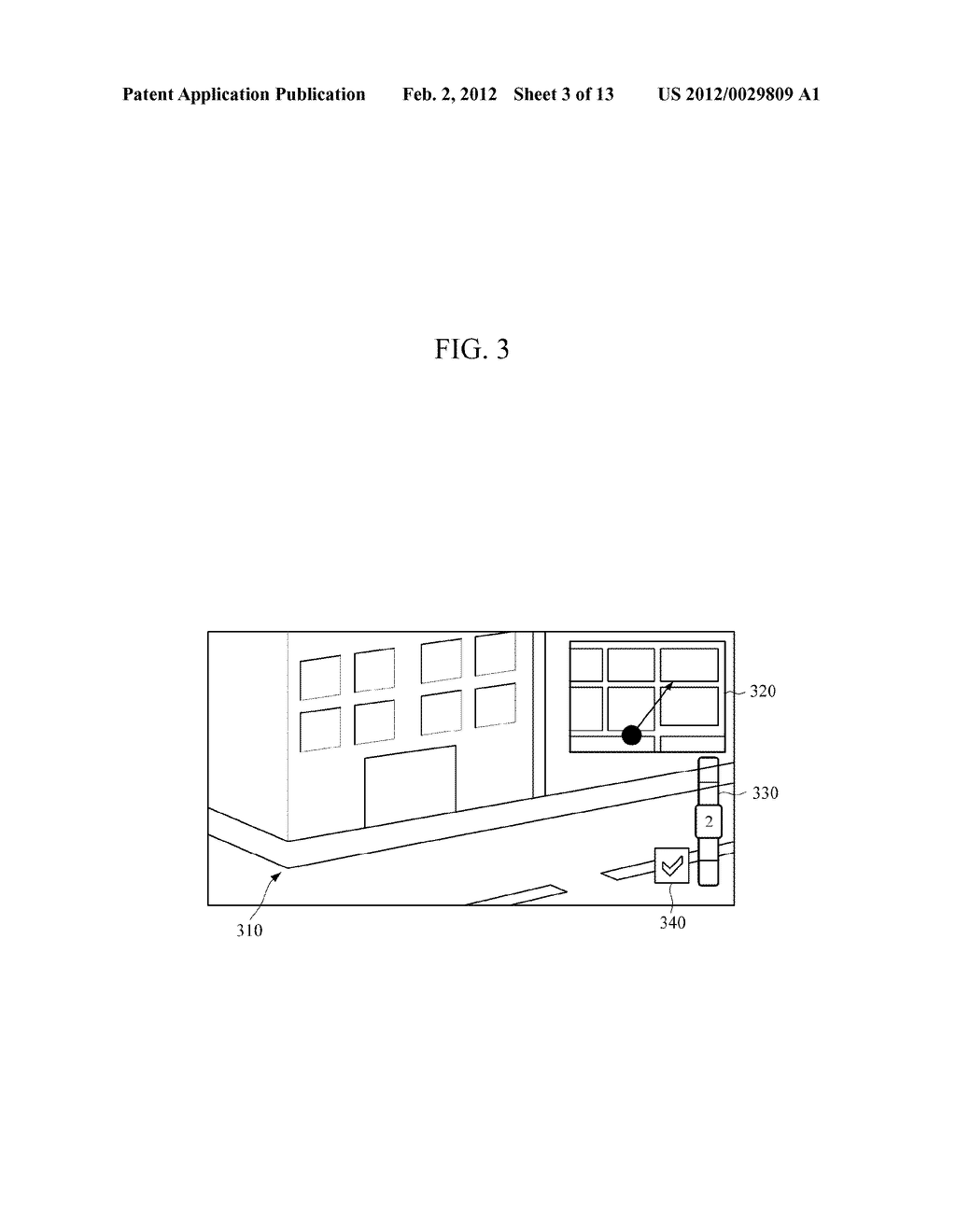 APPARATUS AND METHOD FOR PROVIDING ROAD VIEW - diagram, schematic, and image 04