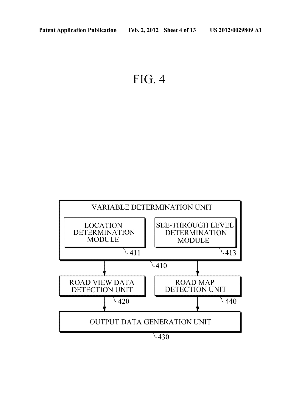 APPARATUS AND METHOD FOR PROVIDING ROAD VIEW - diagram, schematic, and image 05