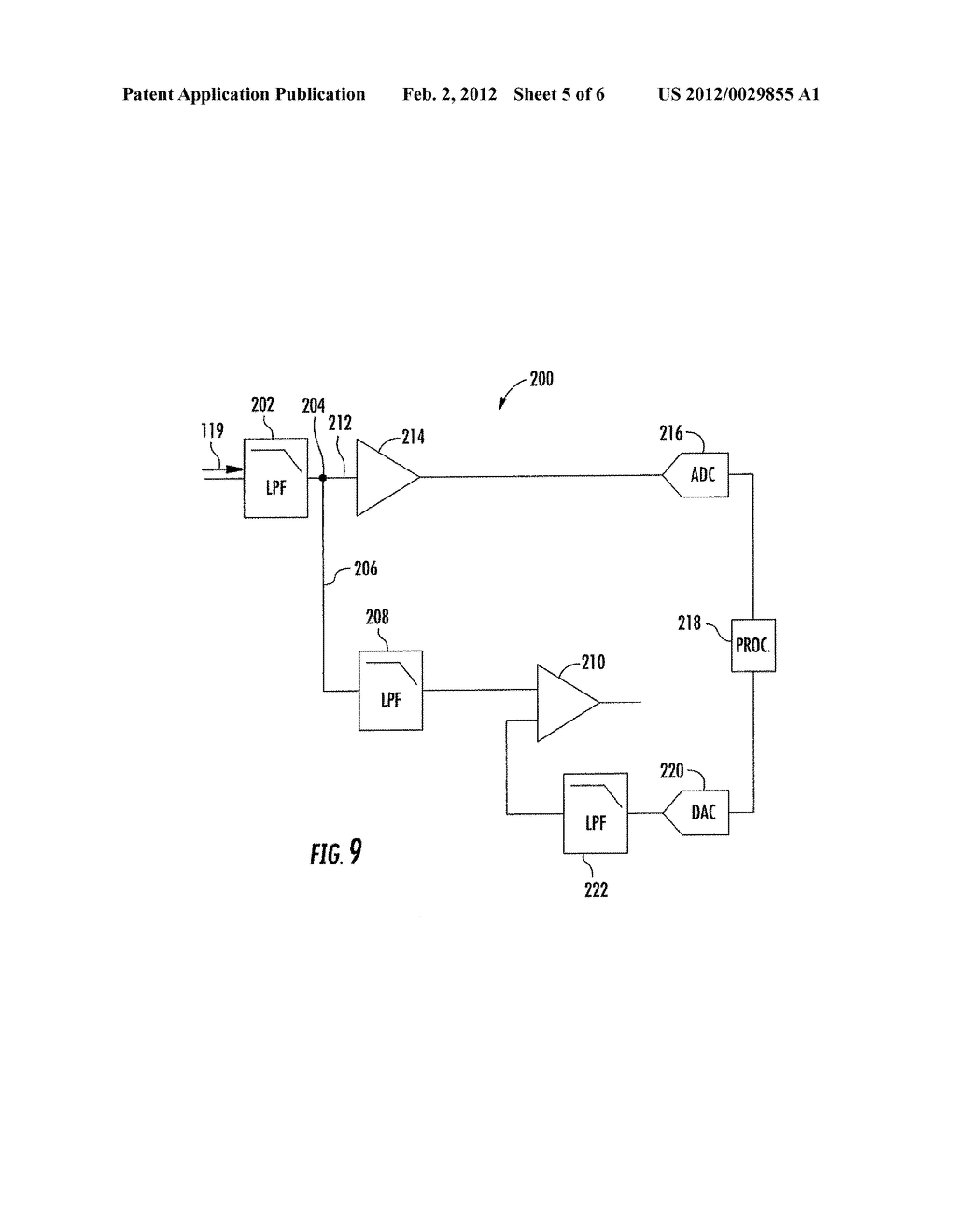 DETECTION APPARATUS WITH A MATCHING NETWORK  FOR NULLING AND ASSOCIATED     METHODS - diagram, schematic, and image 06