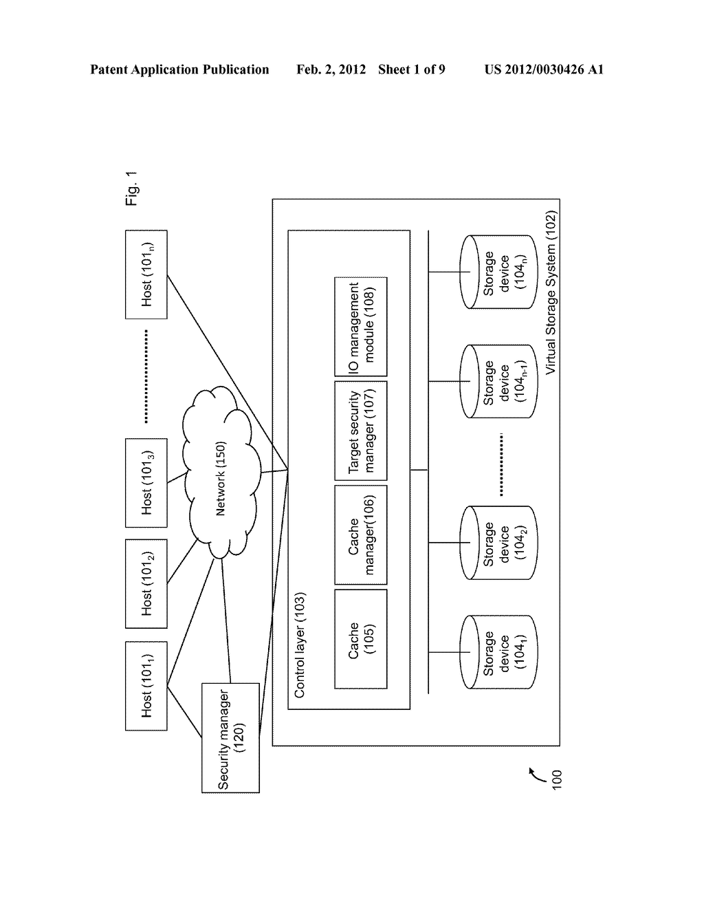 METHOD OF ACCESS CONTROL TO STORED INFORMATION AND SYSTEM THEREOF - diagram, schematic, and image 02