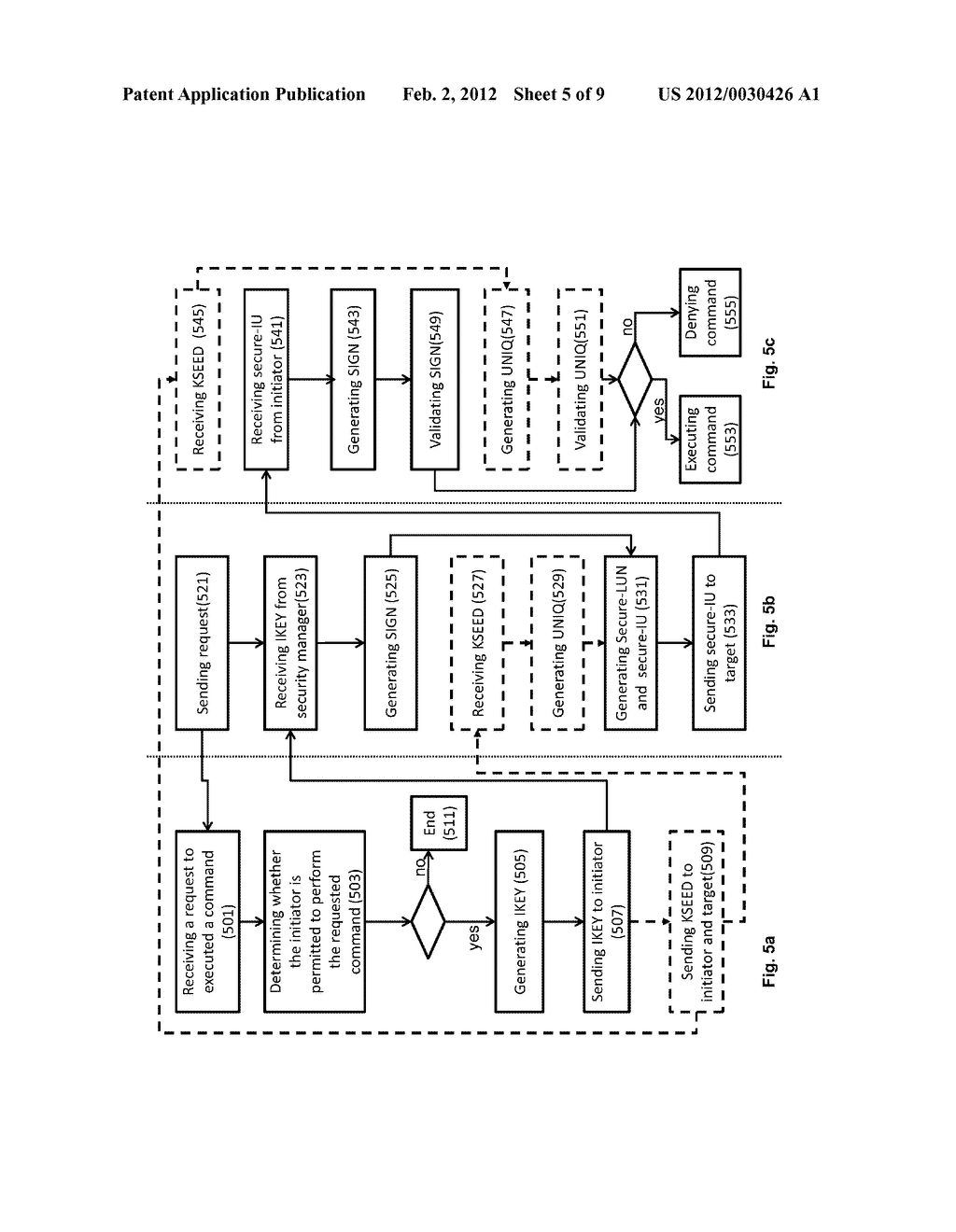 METHOD OF ACCESS CONTROL TO STORED INFORMATION AND SYSTEM THEREOF - diagram, schematic, and image 06