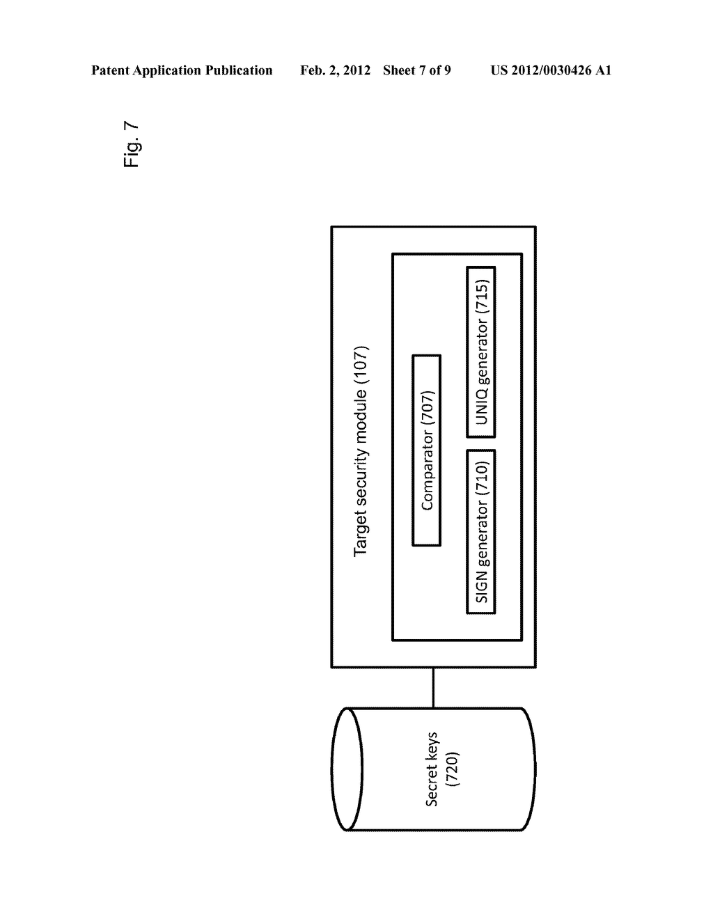 METHOD OF ACCESS CONTROL TO STORED INFORMATION AND SYSTEM THEREOF - diagram, schematic, and image 08