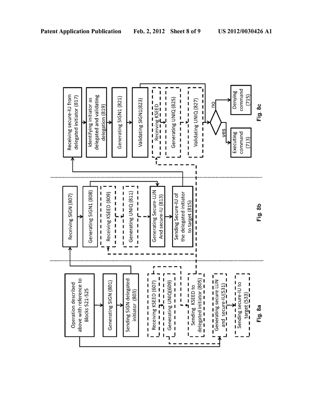 METHOD OF ACCESS CONTROL TO STORED INFORMATION AND SYSTEM THEREOF - diagram, schematic, and image 09