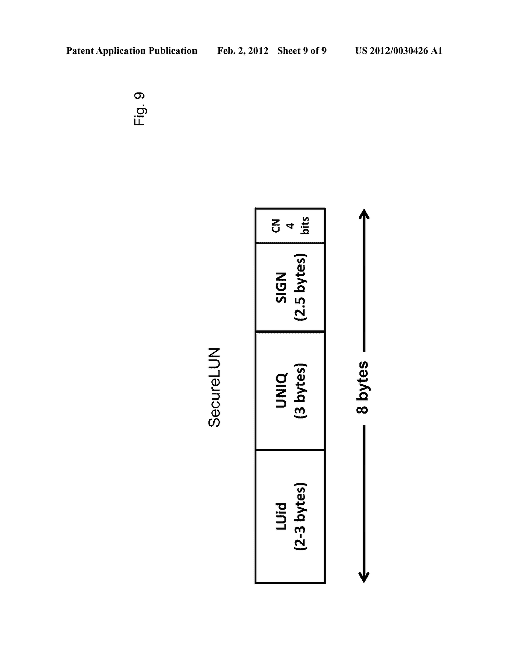METHOD OF ACCESS CONTROL TO STORED INFORMATION AND SYSTEM THEREOF - diagram, schematic, and image 10