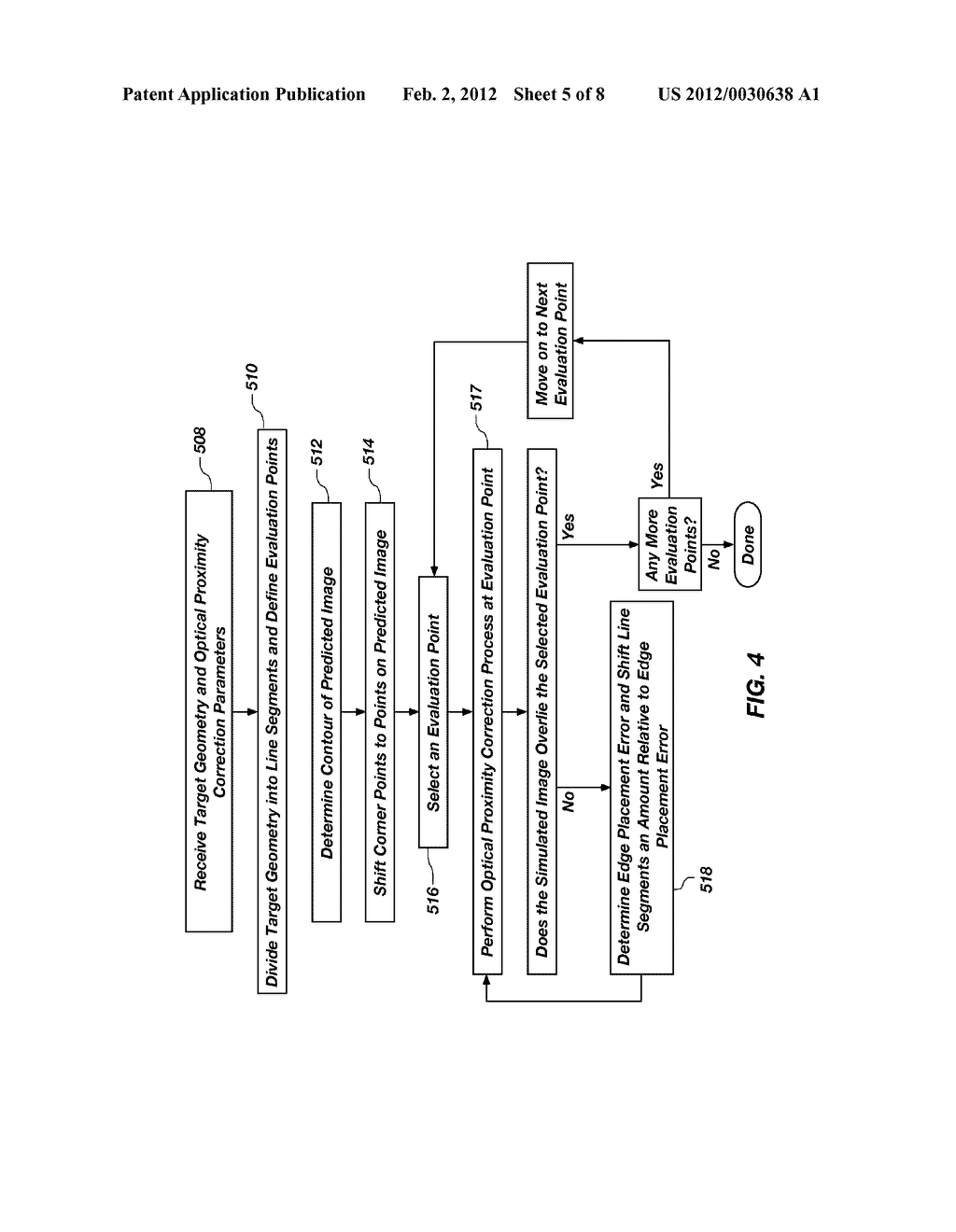 METHODS FOR DEFINING EVALUATION POINTS FOR OPTICAL PROXIMITY CORRECTION     AND OPTICAL PROXIMITY CORRECTION METHODS INCLUDING SAME - diagram, schematic, and image 06