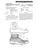 Article of Footwear Having an Upper with a Matrix Layer diagram and image