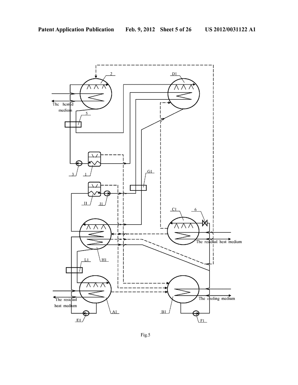 Method to improve heating temperature of heat pump and second-type high     temperature absorption heat pump - diagram, schematic, and image 06