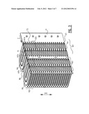Heat Exchanger and Fin Suitable for Use in a Heat Exchanger diagram and image