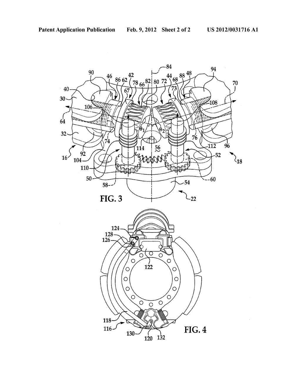 VARIABLE POSITION ANCHOR ASSEMBLY FOR ADJUSTING BRAKE SHOES IN A DRUM     BRAKE - diagram, schematic, and image 03