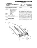 Flying vehicle retractable wing hinge and truss diagram and image