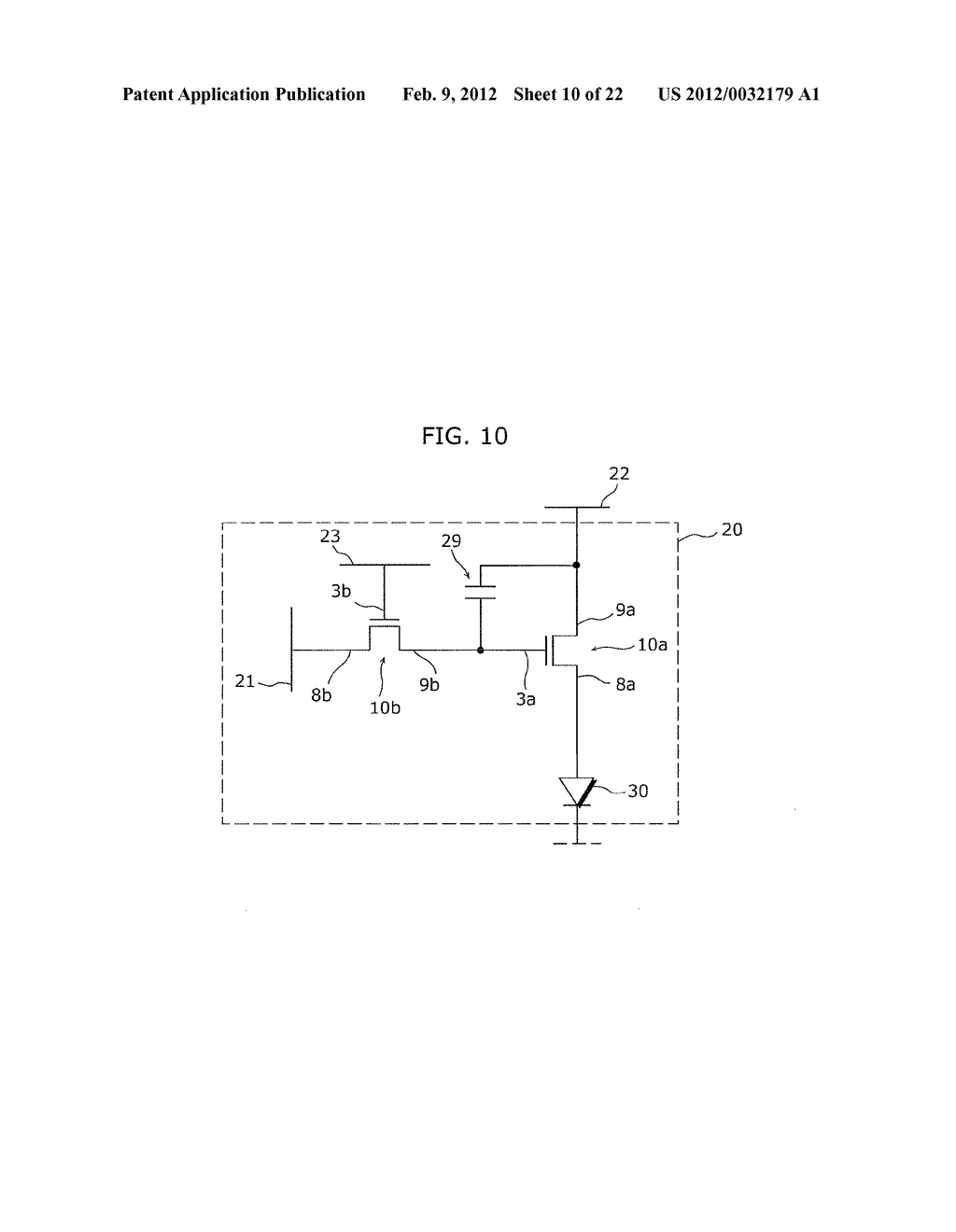 THIN-FILM TRANSISTOR ARRAY DEVICE, ORGANIC EL DISPLAY DEVICE, AND METHOD     OF MANUFACTURING THIN-FILM TRANSISTOR ARRAY DEVICE - diagram, schematic, and image 11