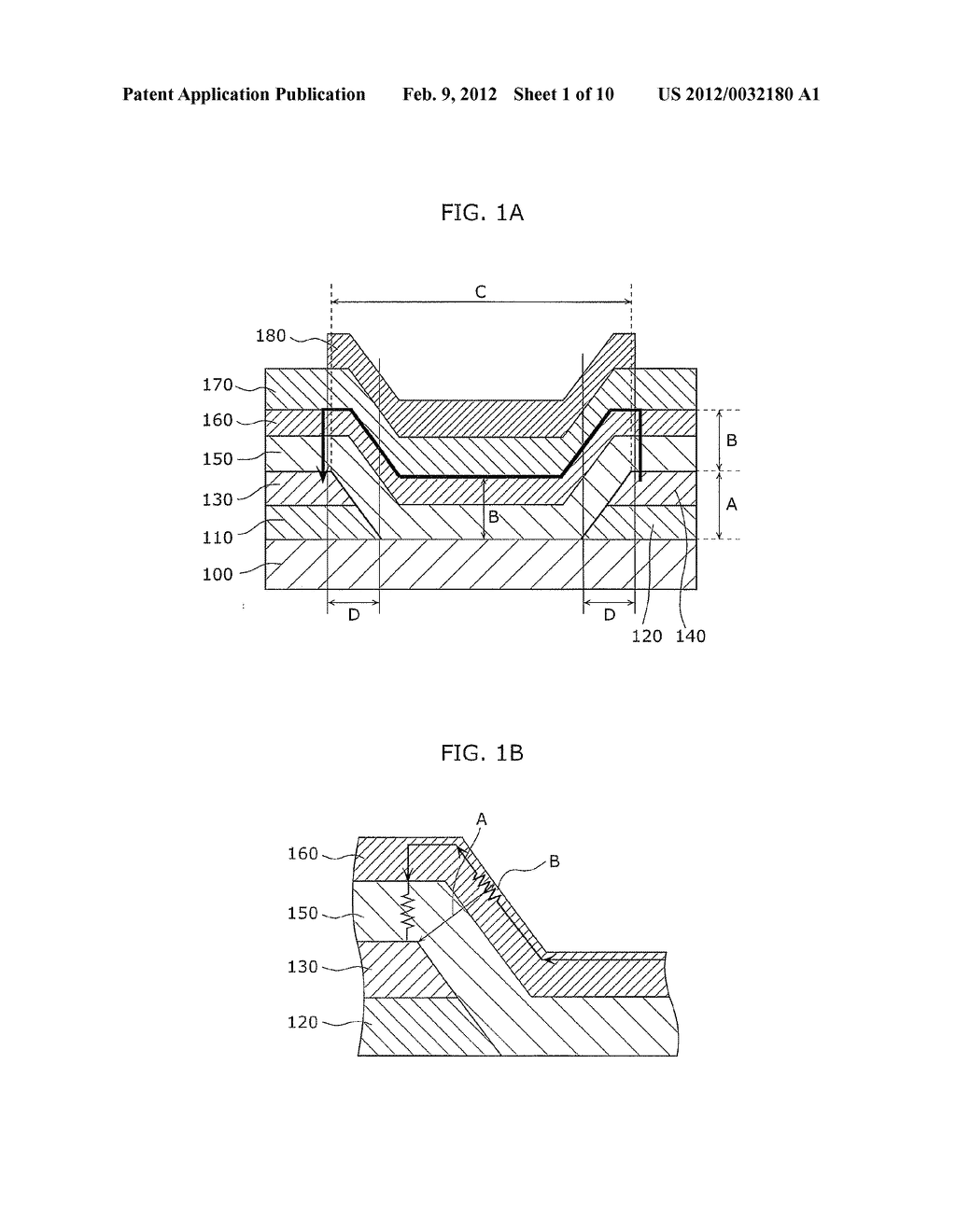 THIN-FILM TRANSISTOR DEVICE AND METHOD OF MANUFACTURING THE SAME - diagram, schematic, and image 02