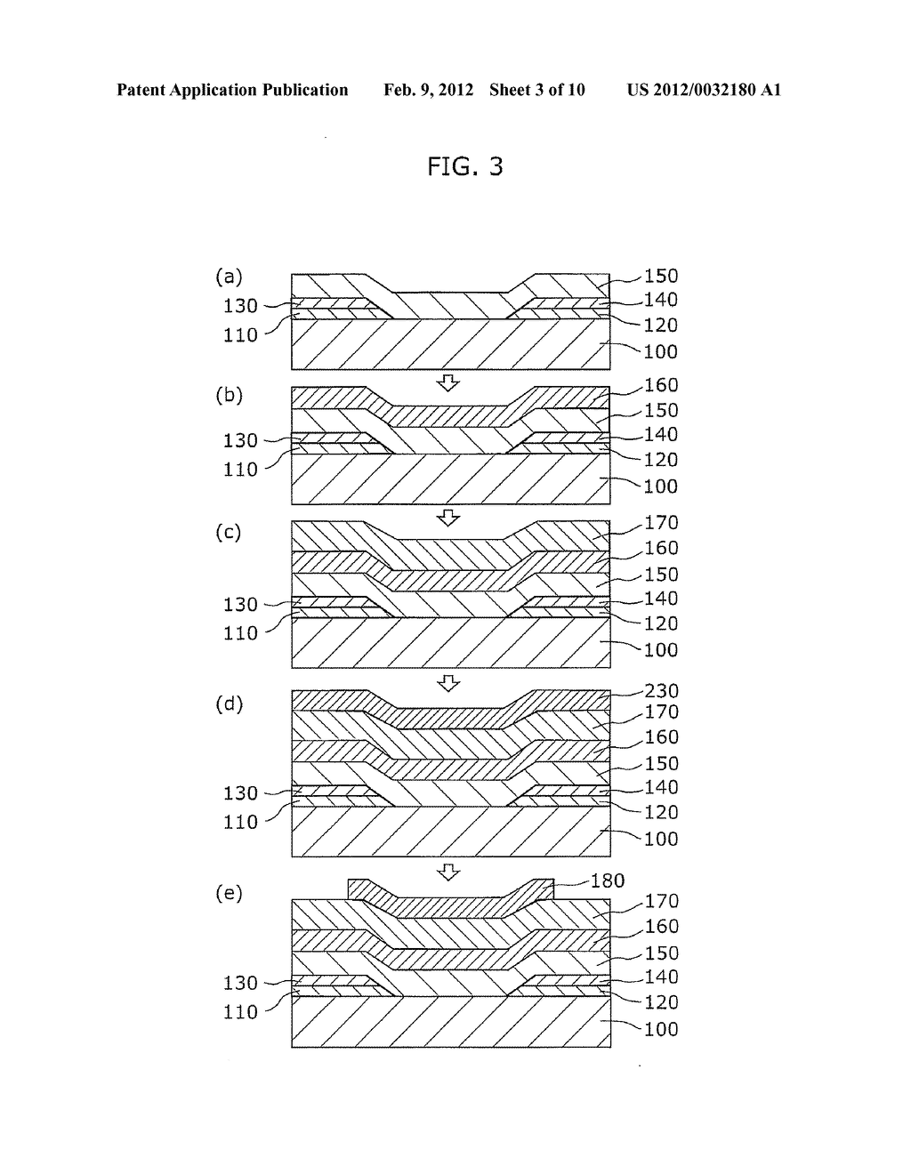 THIN-FILM TRANSISTOR DEVICE AND METHOD OF MANUFACTURING THE SAME - diagram, schematic, and image 04