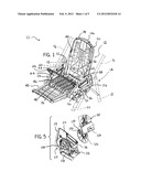 Stroller with Articulating Structure diagram and image