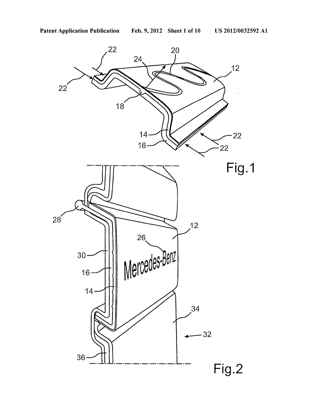DECORATIVE ELEMENT AND METHOD FOR PRODUCTION THEREOF AND METHOD FOR     ACTUATING THE SAME - diagram, schematic, and image 02
