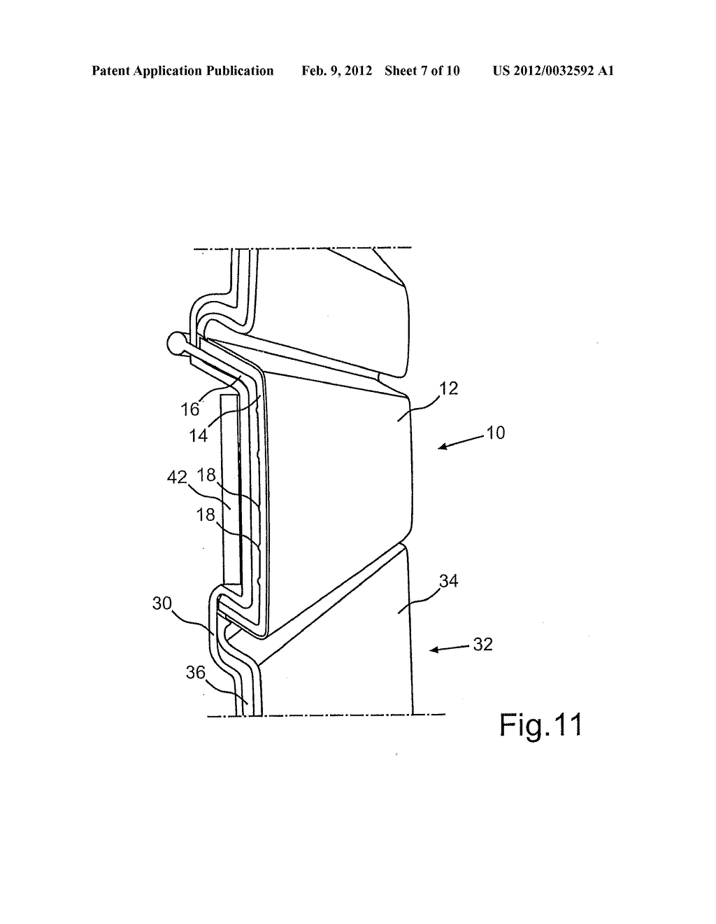 DECORATIVE ELEMENT AND METHOD FOR PRODUCTION THEREOF AND METHOD FOR     ACTUATING THE SAME - diagram, schematic, and image 08