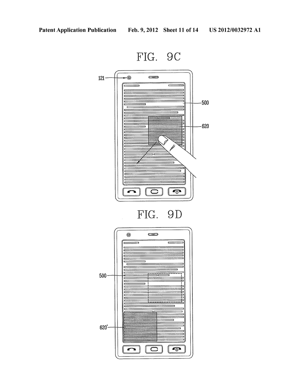 MOBILE TERMINAL PROVIDING LIGHTING AND HIGHLIGHTING FUNCTIONS AND CONTROL     METHOD THEREOF - diagram, schematic, and image 12