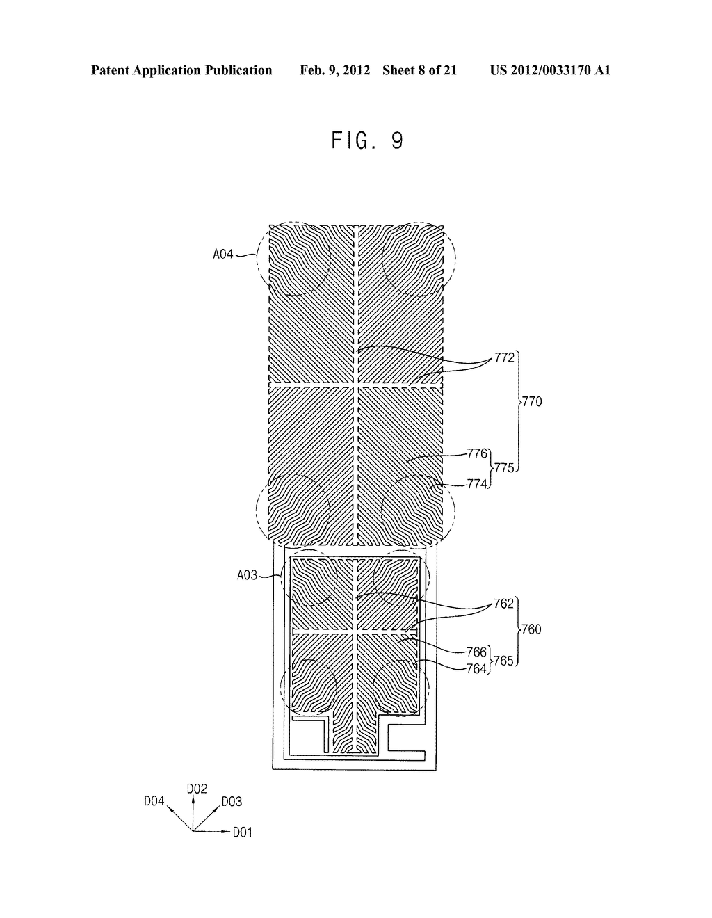 ARRAY SUBSTRATE AND DISPLAY DEVICE HAVING THE SAME - diagram, schematic, and image 09