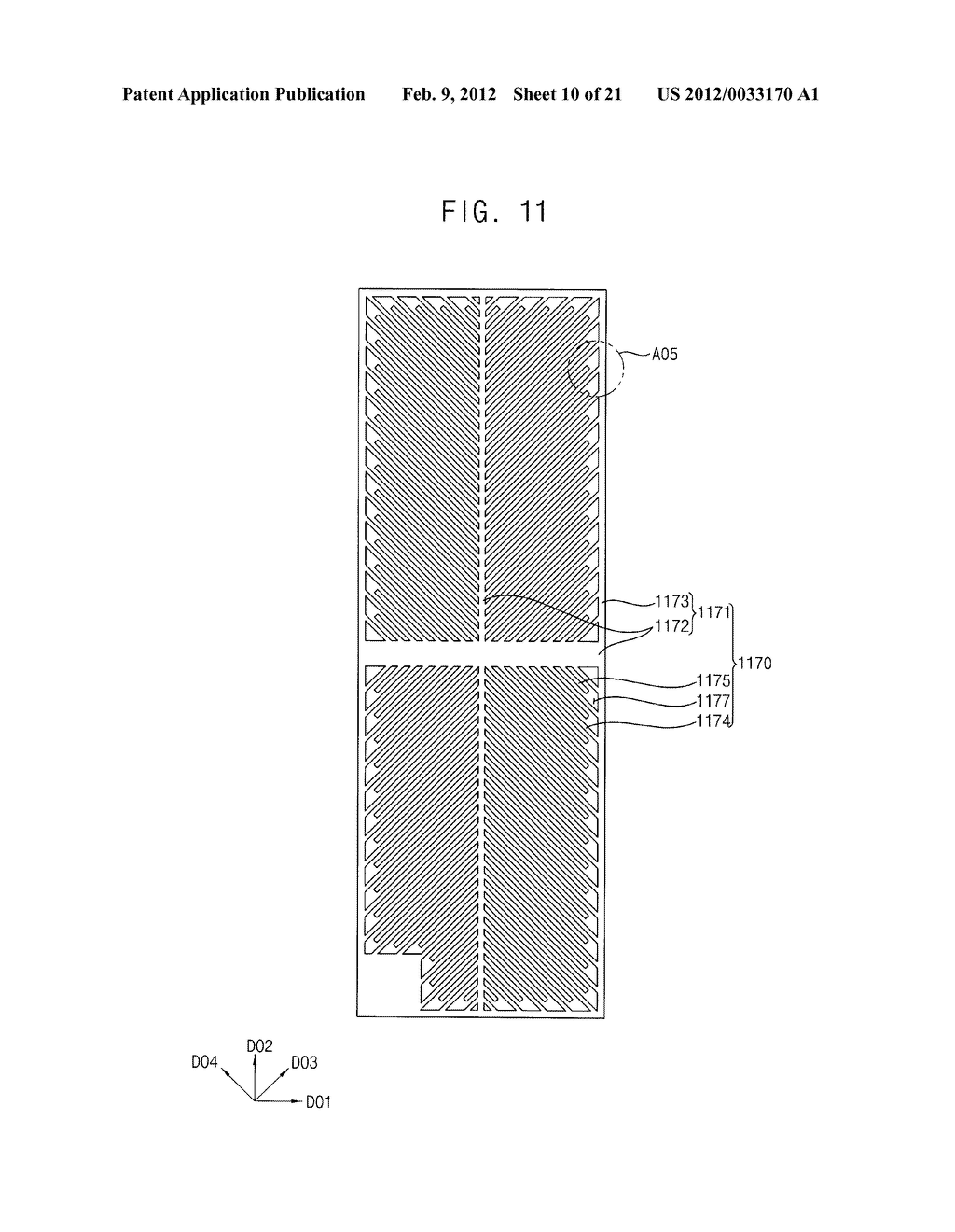 ARRAY SUBSTRATE AND DISPLAY DEVICE HAVING THE SAME - diagram, schematic, and image 11