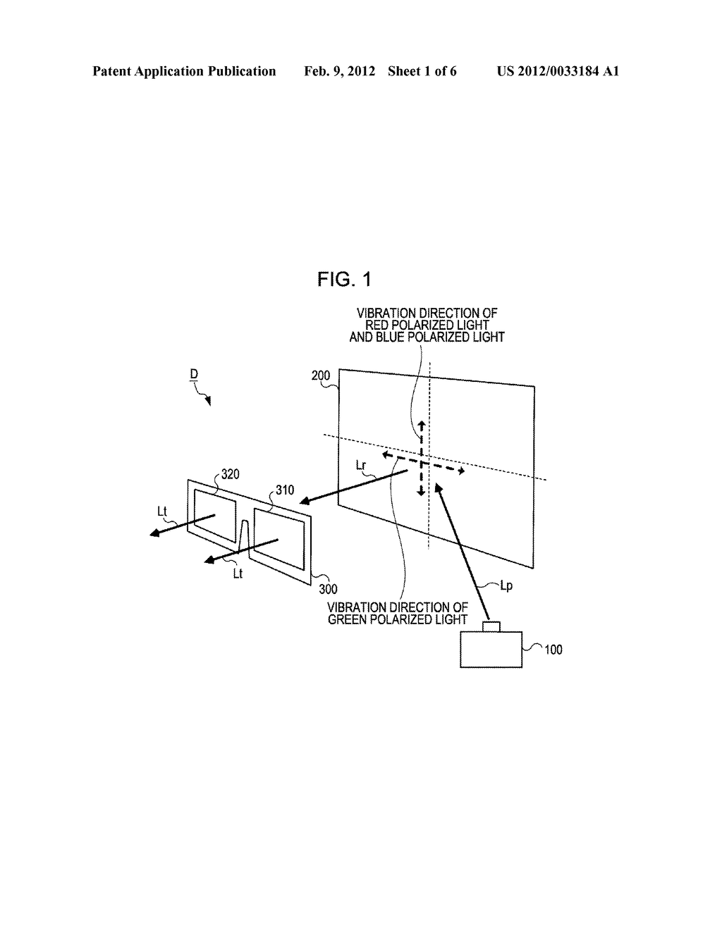STEREOSCOPIC VISION GLASSES AND STEREOSCOPIC VISION ELECTRONIC APPARATUS - diagram, schematic, and image 02