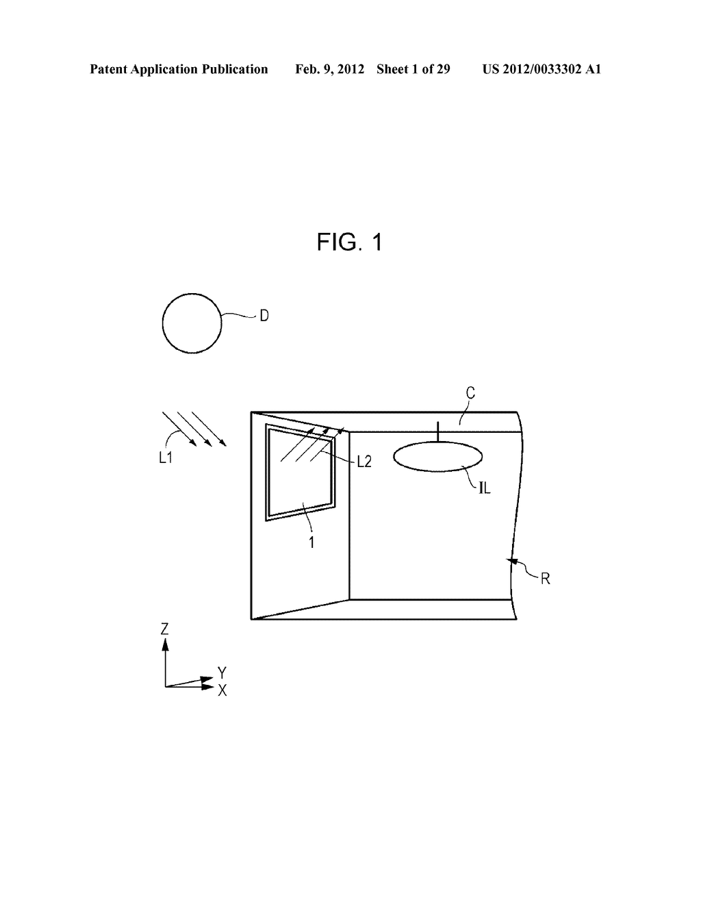 OPTICAL ELEMENT, METHOD OF MANUFACTURING OPTICAL ELEMENT, ILLUMINATION     DEVICE, WINDOW MEMBER, AND FITTING - diagram, schematic, and image 02