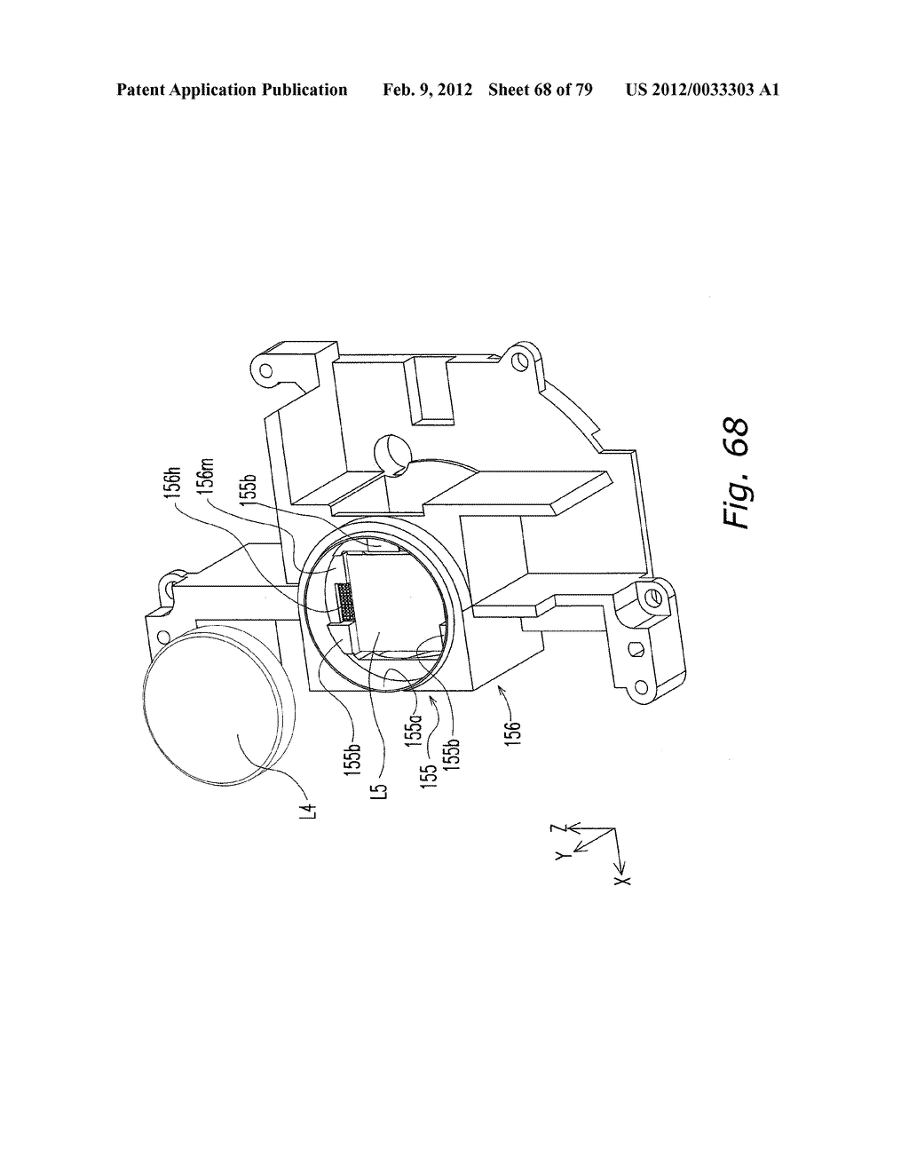 LENS BARREL, IMAGE PICKUP DEVICE, AND LENS BARREL MANUFACTURING METHOD - diagram, schematic, and image 69