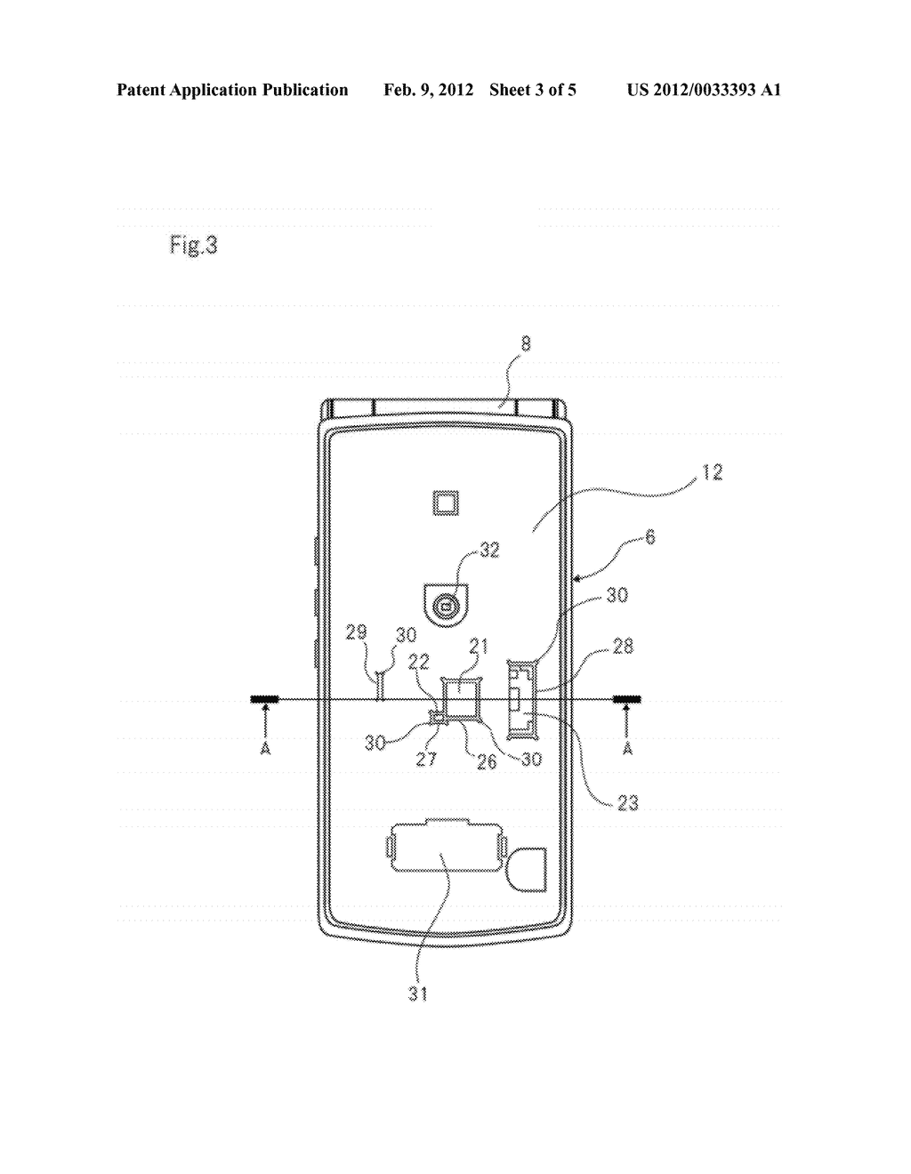 CASE STRUCTURE FOR PORTABLE ELECTRONIC DEVICE, PORTABLE ELECTRONIC DEVICE     AND METHOD FOR MANUFACTURING SAME - diagram, schematic, and image 04