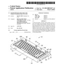 KEYBOARD WITH ADJUSTABLE TOP SURFACE TEMPERATURE FUNCTION diagram and image