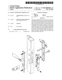 QUICKLY ASSEMBLABLE MORTISE LOCK diagram and image