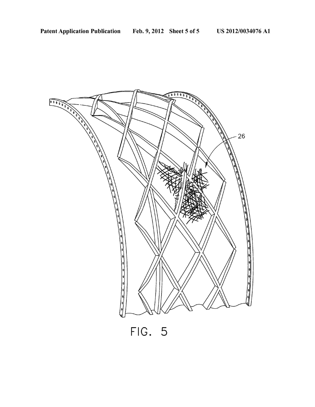 FAN CASE CONTAINMENT SYSTEM AND METHOD OF FABRICATION - diagram, schematic, and image 06