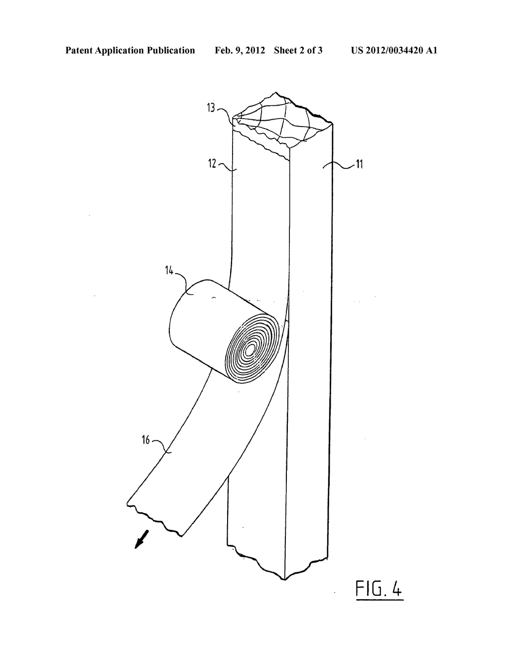 Method for Applying a Cured Covering Layer on a Substrate - diagram, schematic, and image 03