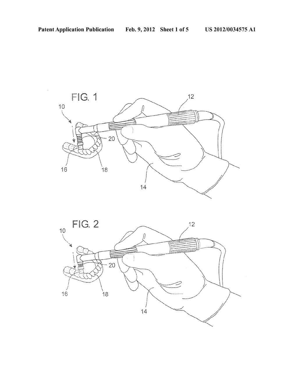 COMBINATION ROTATING DENTAL CLEANING BRUSH AND PASTE DEVICE - diagram, schematic, and image 02