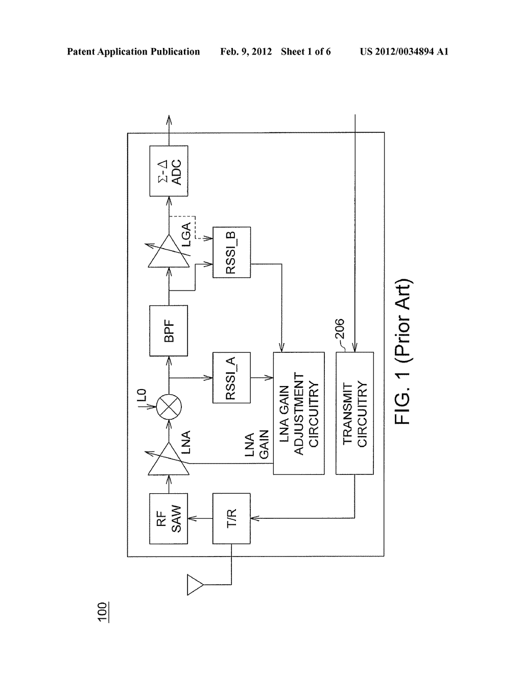 AUTOMATIC GAIN CONTROL SYSTEM WITH DUAL-RSSI INTERFERENCE